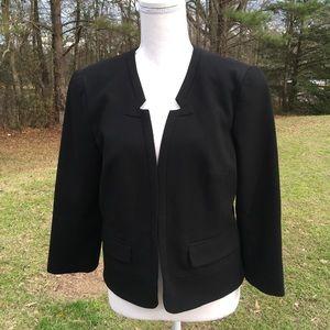 Trina Turk Black Fitted Jacket Sz 6